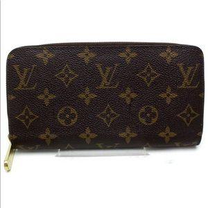 Louis Vuitton Zippy Wallet Browns Monogram